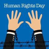 Human Rights Day Vector Template Stock Image