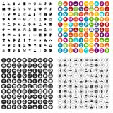 100 human rights icons set vector variant. 100 human rights icons set vector in 4 variant for any web design isolated on white Stock Image