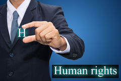 Human rights Stock Photography