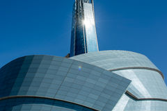 The Human Rights Museum Royalty Free Stock Photography