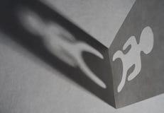 Human Shadow Stock Image