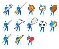 Human skills set Stock Image