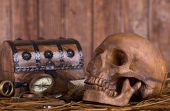 Human Skull Closeup Stock Images