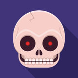 Human Skull Icon Stock Images