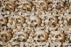 Chapel of Bones. Faro, Algarve, Portugal Stock Photos