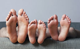 Human soles close-up Royalty Free Stock Images