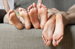 Human soles close-up. Concept of feet care Royalty Free Stock Image
