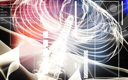 Human spine Stock Image