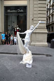 Human Statue, Rome, Italy Stock Images