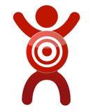 Human target Stock Images