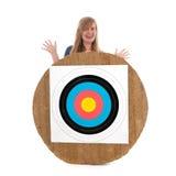 Human Target Royalty Free Stock Image