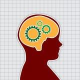 Human Thinking, Vector Work Stock Photos