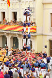 Human tower Stock Image