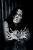 Human trafficking - Concept Photo Stock Images