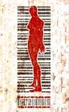 Human trafficking relative image Royalty Free Stock Images