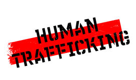 Human Trafficking rubber stamp Royalty Free Stock Images