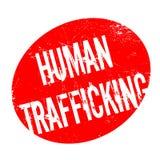 Human Trafficking rubber stamp Royalty Free Stock Photos