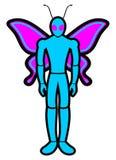 Human wings Stock Photos