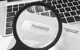 Humana Health Insurance Company Photographie stock libre de droits