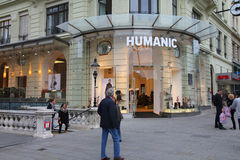 Humanic shoe store Royalty Free Stock Photography