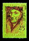 1469-1536) humanistas de Desiderius Erasmus (, serie, circa 1969 Fotografía de archivo