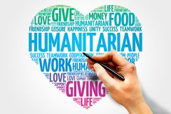 humanitaire Photos stock