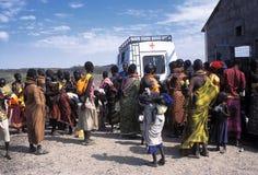 Humanitaire hulp Stock Afbeeldingen