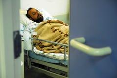 Humanitaire hulp aan de Palestijnse mensen Stock Afbeeldingen