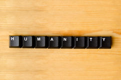 Humanity word Stock Images