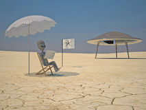 humanoid czytanie fotografia royalty free