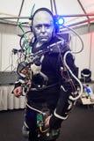 Humanoid an der Roboter-und Hersteller-Show Stockfoto