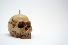 Humans skull1. This is humans skull with sealing-wax stock photography