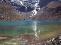 Humantay Lake - Peru stock photography
