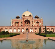 Humayan's Tomb Vertical Panorama, New Delhi India Royalty Free Stock Images
