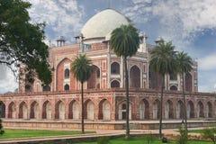 Humayun坟茔新德里,印度 免版税图库摄影