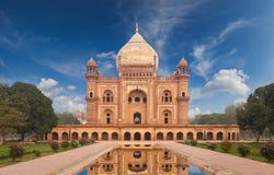 Humayun坟茔新德里,印度 库存图片