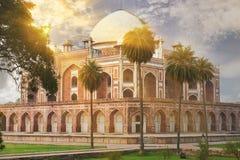 Humayun坟茔新德里,印度 图库摄影