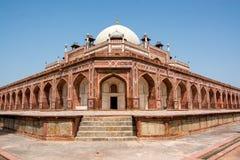 Humayun坟茔新的德里,印度 免版税库存照片