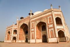 Humayun,德里,印度坟茔  免版税库存图片
