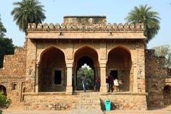 Humayun-Grab in Delhi, Indien lizenzfreies stockfoto