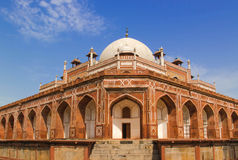 Humayun-Grab-Eckenansicht Stockbilder