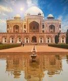 Humayun Grobowcowy New Delhi, India zdjęcie stock