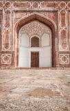 Humayun grobowiec w Delhi Zdjęcie Royalty Free