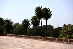 Humayun ` s坟茔在印度 库存照片
