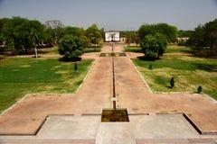 Humayun ` s坟茔在印度 免版税库存图片
