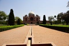 Humayun ` s坟茔在印度 免版税库存照片