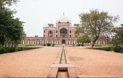 Humayun s坟茔,新德里,印度 库存图片