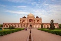 Humayun` s Graf in Delhi, India royalty-vrije stock fotografie