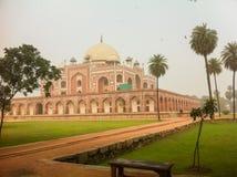 Humayun s gravvalv, New Delhi, Indien Royaltyfri Fotografi