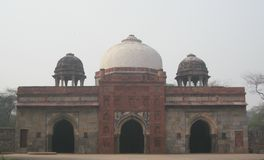 Humayun ` s grobowiec w Delhi, India fotografia royalty free